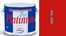 Vitex Platinum lesk RAL 3020 0,75L